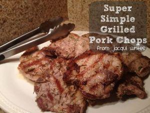 Recipe: Grilled Pork Chops