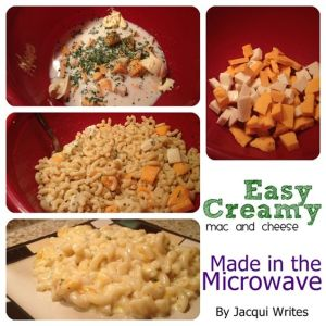 Easy Creamy Mac and Cheese in the Microwave
