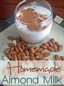 Homemade Almond Milk — An Easy How To