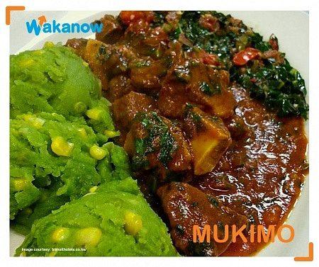 Mukimo food