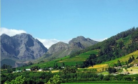 Framshoeck Valley in South Africa