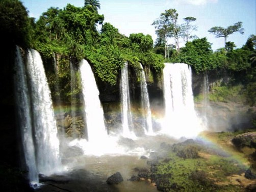 waterfall in calabar Agbokim