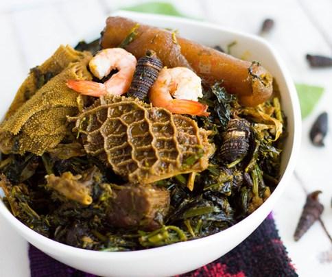 Afang soup calabar festival