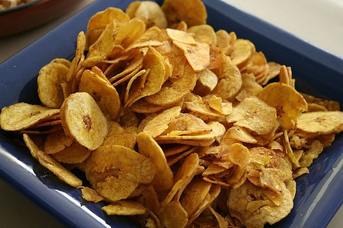 travel snack plantain chips