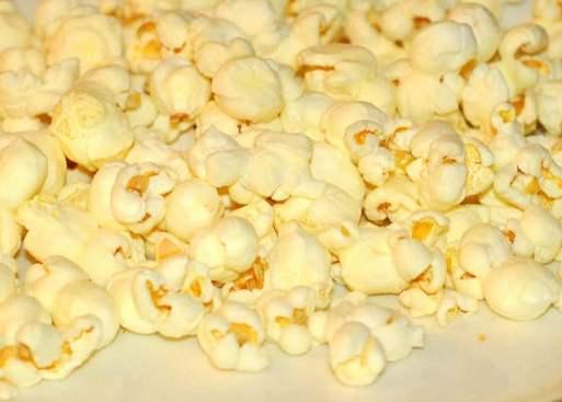 popcorn travel snack
