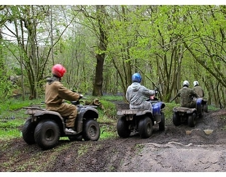Quad biking at Omu Resort