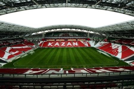 A landscape image of the Kazan staduim