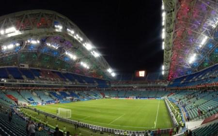 Fisht stadium in pictures