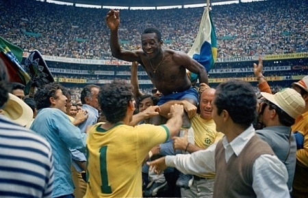 Pele - Brazil's 1970 World Cup hero