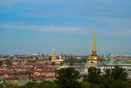 Scenic views of Saint Petersburg, Russia's cultural capital