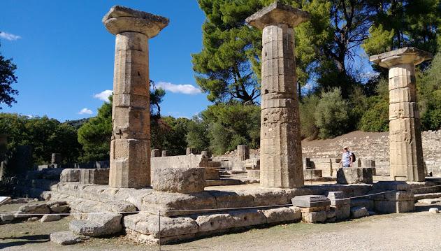 Athens ruin