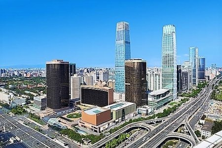 Top 10 most-asked travel questions - Landscape view of Chinese CBD landmark