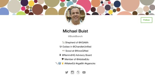 Michael Buist Wakelet profile