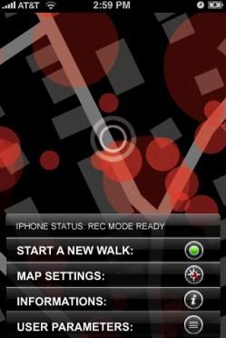 Iphone menu start
