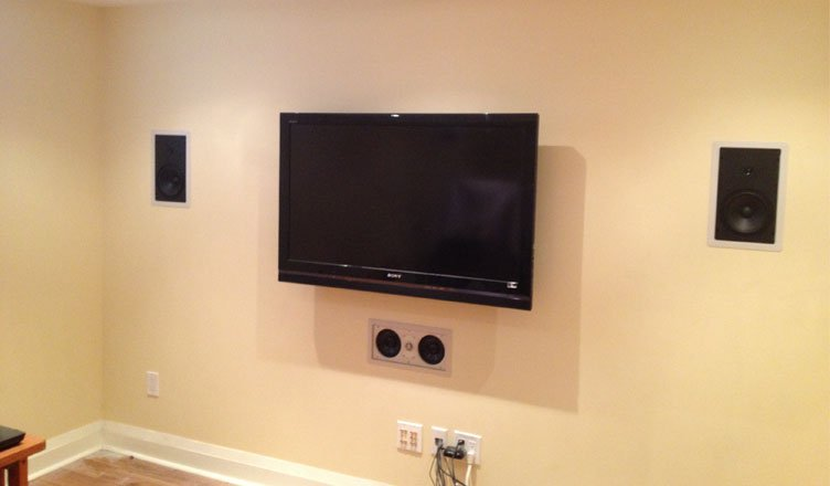 Home Theater System Installation
