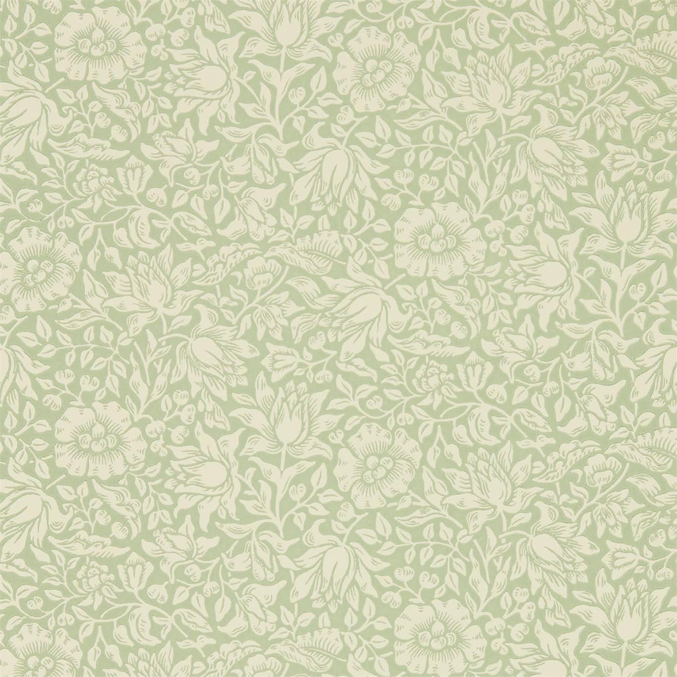 Mallow wallpaper by Morris & Co.