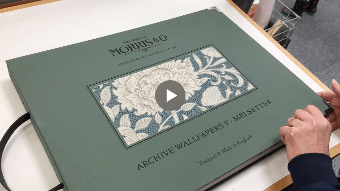 Wallpaper book club – Morris & Co. Melsetter
