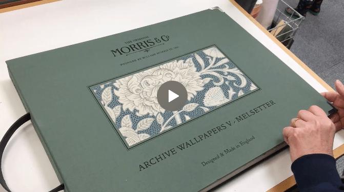Wallpaper book club – Morris & Co. Melsetter