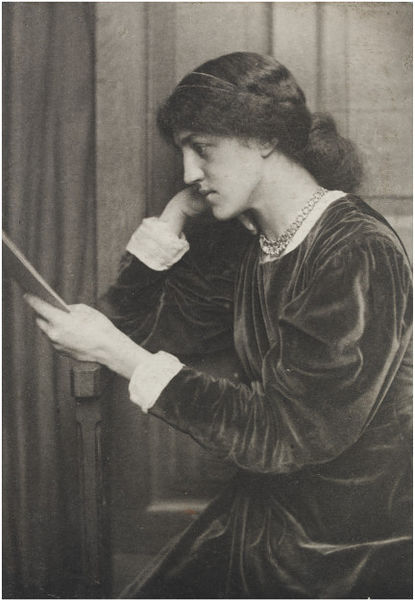 Portrait of May Morris
