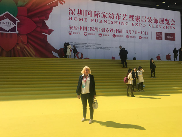 Hello from China