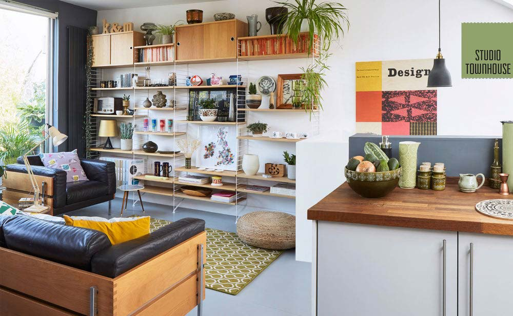 Studio Townhouse spread from Mini Modern's Mid Century Modern Living