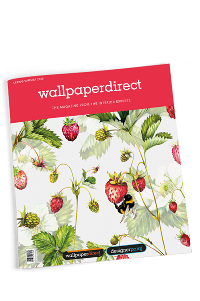 Wallpaper Direct magazine, lining paper