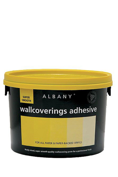 Albany super smooth wallcovering adhesive - yellow top, switches and sockets