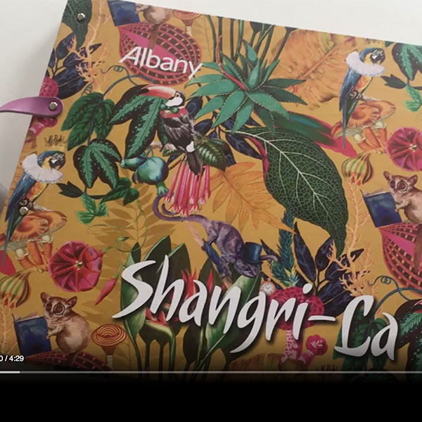 Wallpaper book club – Albany Shangri-La