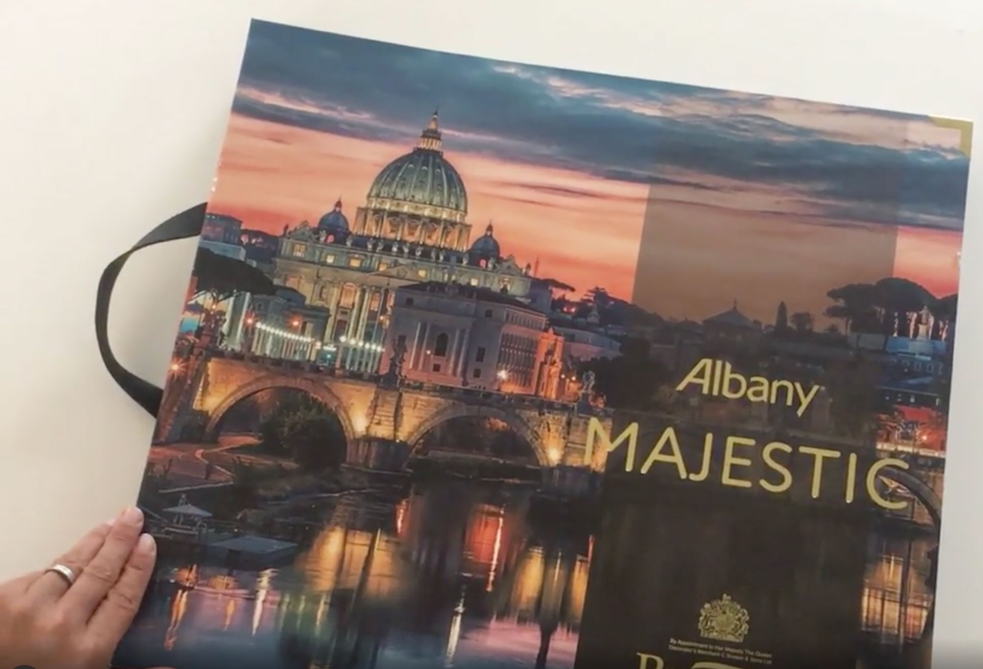 Wallpaper book club – Albany Majestic