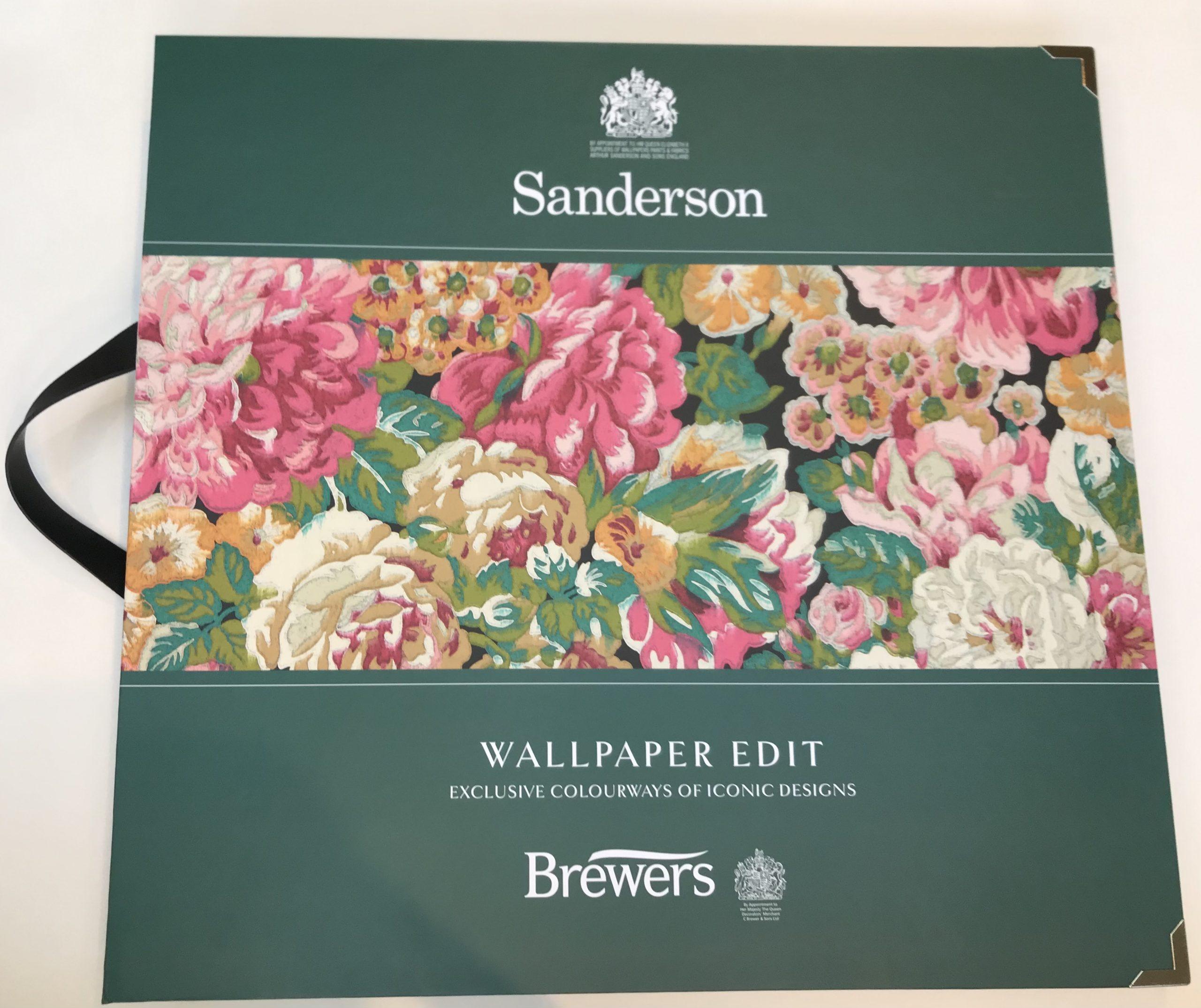 Wallpaper book club – Sanderson Wallpaper Edit
