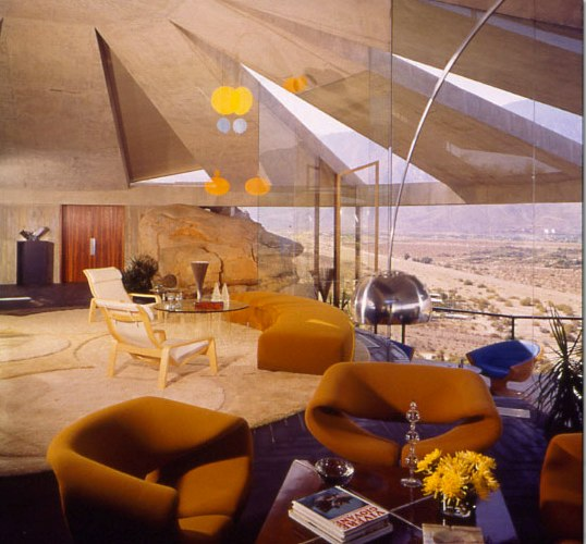 John Lautners Arthur Elrod House In Palm Springs Shelby