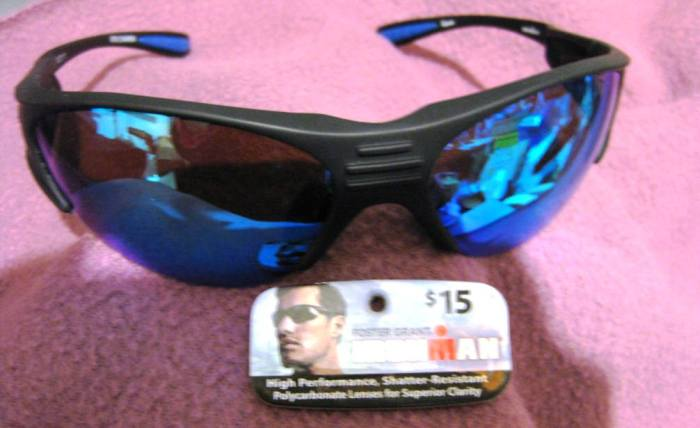Foster Grant, IronMan, High Performance Sunglasses, orig price $15, on sale at Wal Mart $3