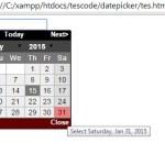 Cara membuat datepicker dengan plugin Jquery