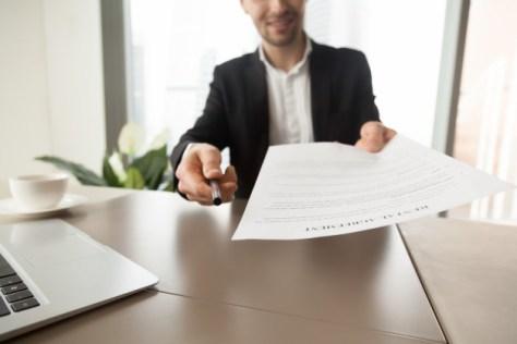 entrega de formato de contrato de compraventa de inmueble