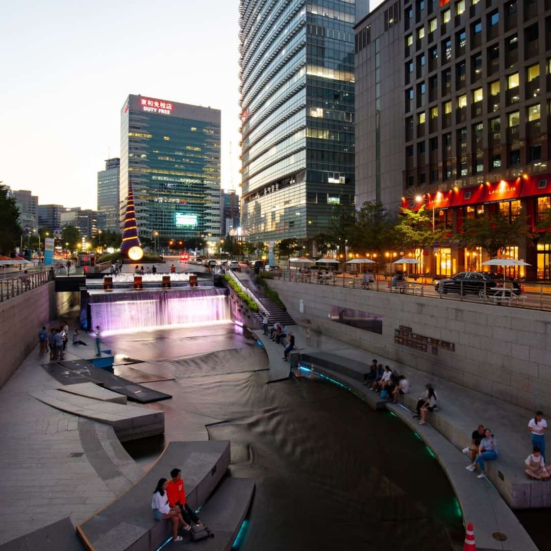 Cheonggyecheon Stream address