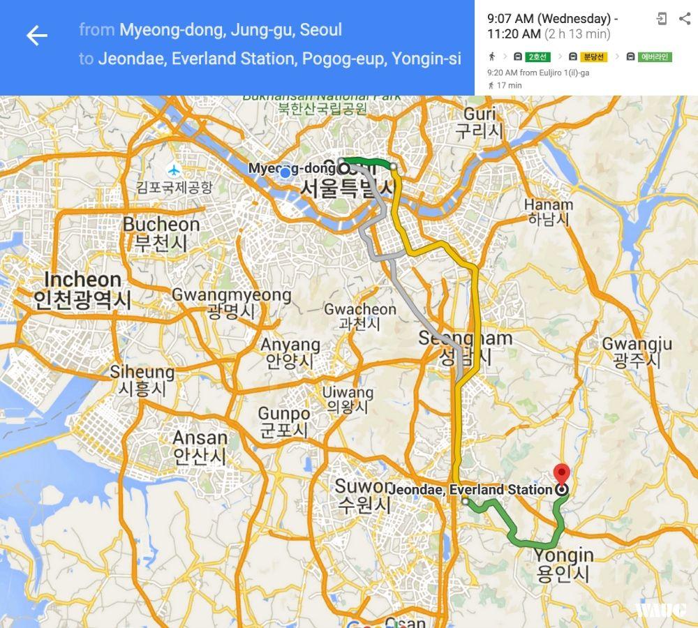 Everland-Shuttle-Bus-Myeongdong