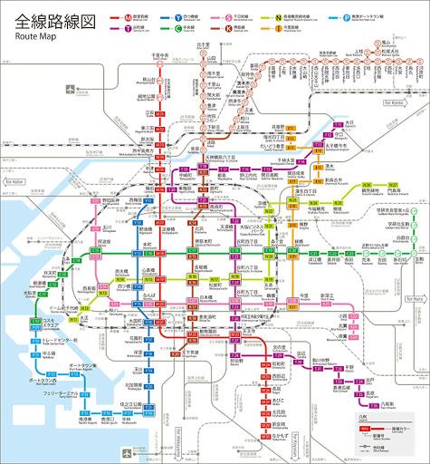 osaka-metro-map