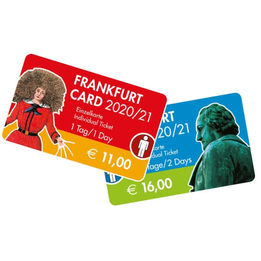 frankfurt card price