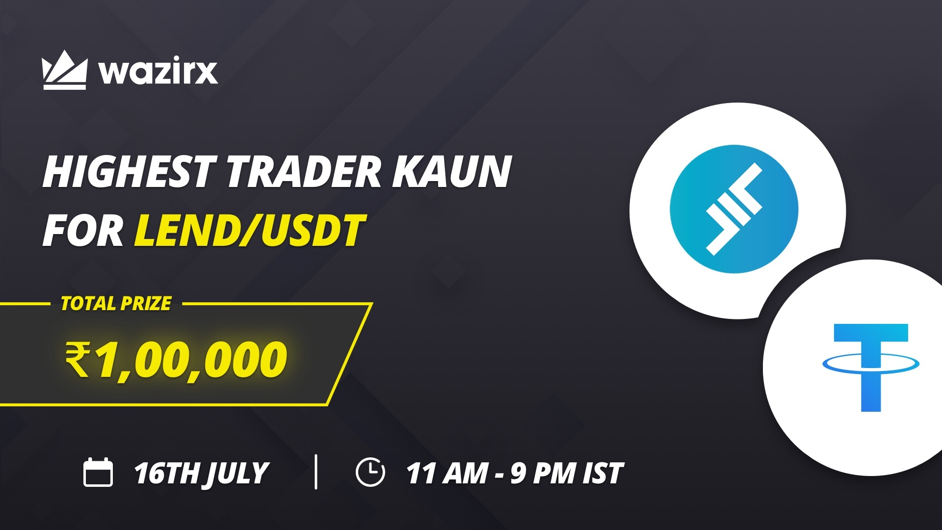Highest Trader Kaun for LEND/USDT
