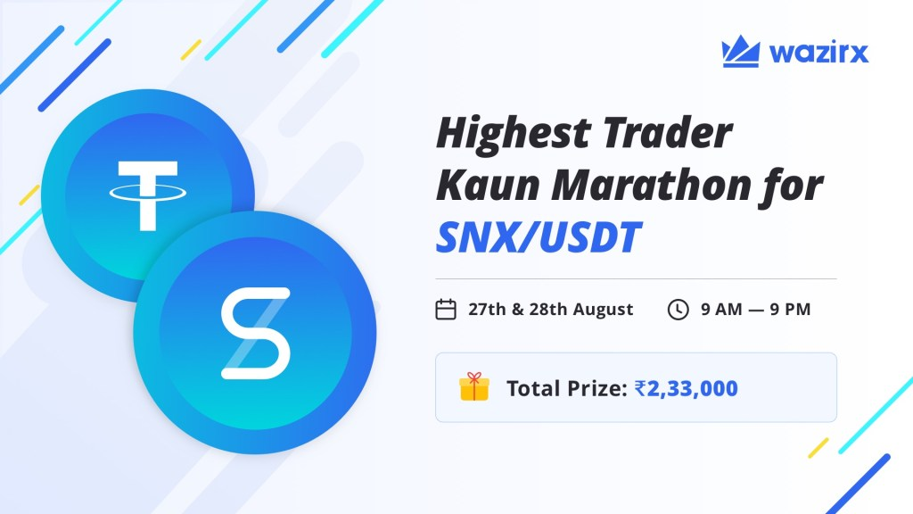 Highest Trader Kaun Marathon for SNX/USDT