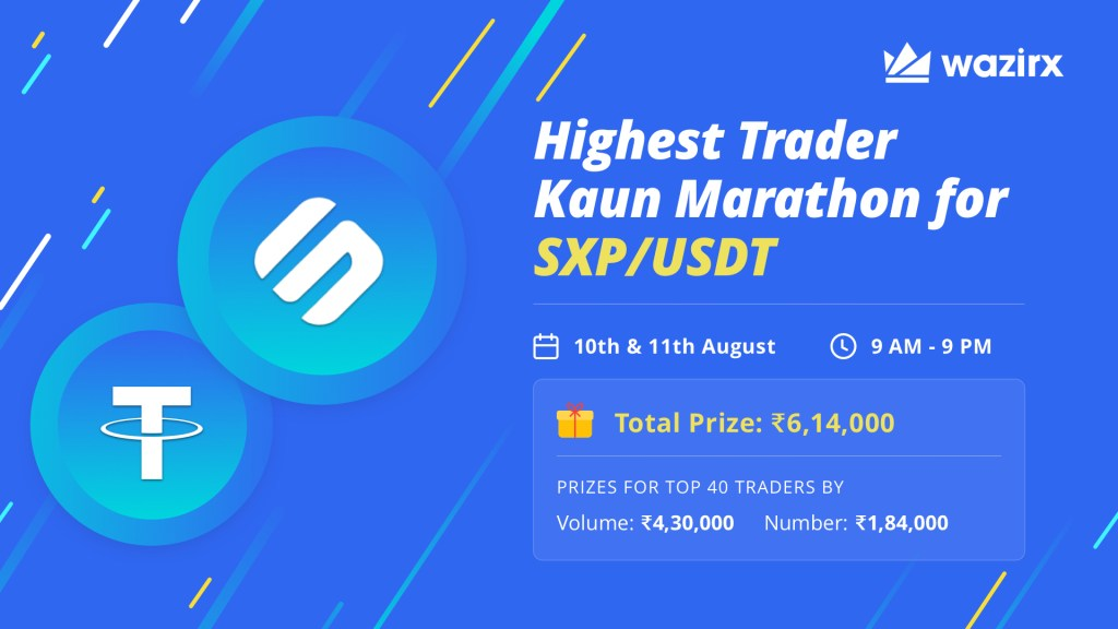 Highest Trader Kaun for SXP/USDT