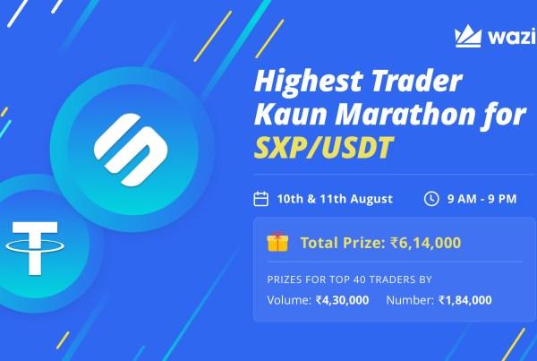Highest Trader Kaun for SXP/USDT
