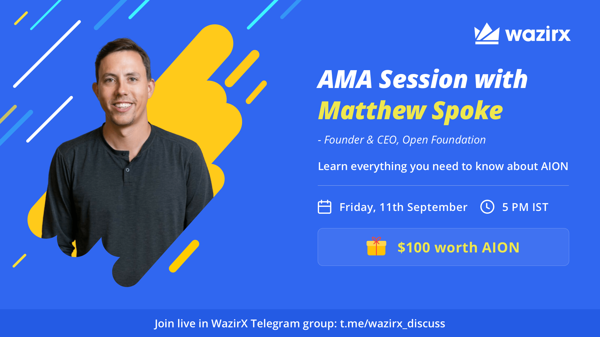 AMA with Matthew Spoke