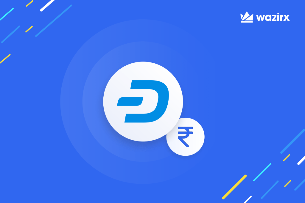DASH/INR trading is live on WazirX