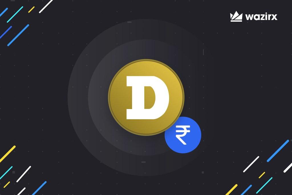 DOGE/INR trading on WazirX