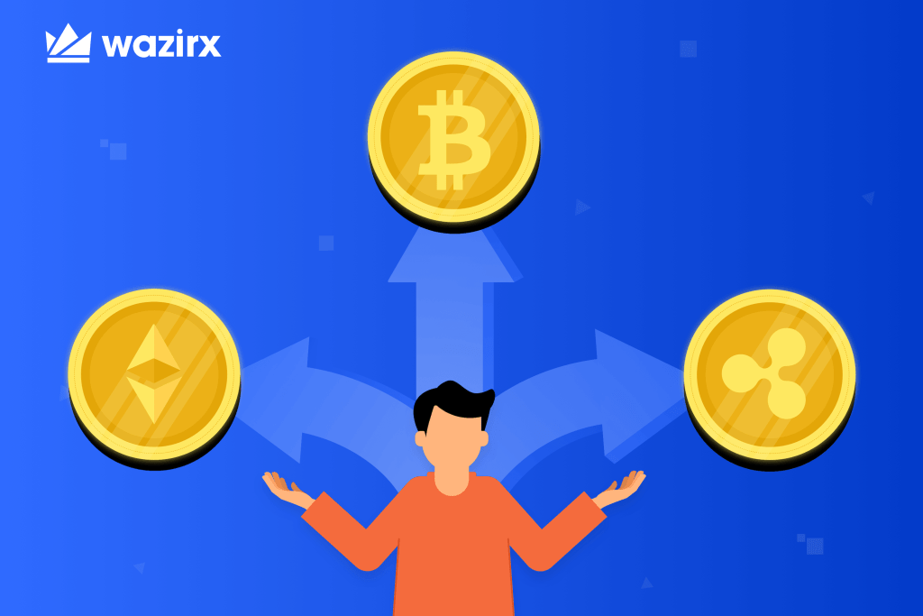 What is the Difference Between Bitcoin, Ethereum, and Ripple - WazirX