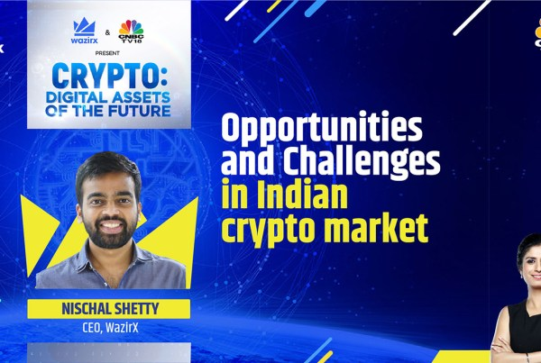 Nischal Shetty on Opportunities And Challenges In Indian Crypto Market