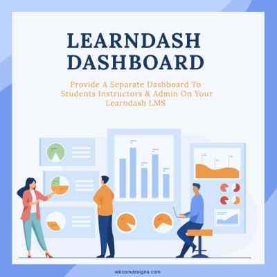 LearnDash dashboard reporting