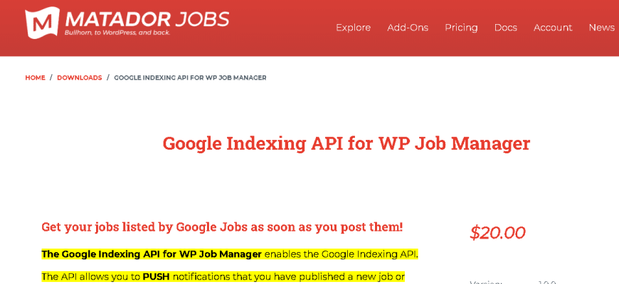 WP Job Manager Addons