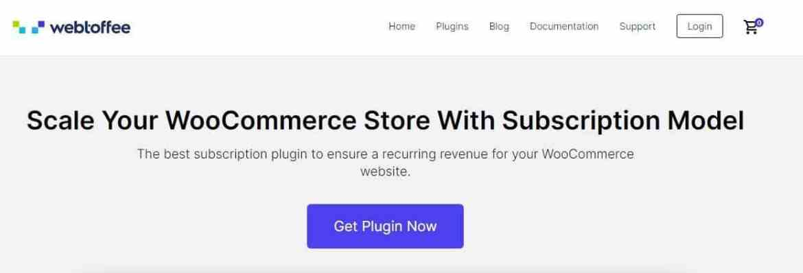 montly subscription woocommerce